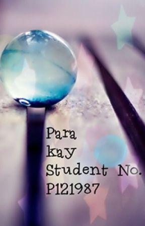 Para kay Student No. P121987 by pinkheartstrings