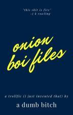 onion boi × chris handsome; oneshots by miaisbored11