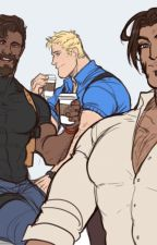 Overwatch: Reaper x Miraculous user reader x Solider 76 X Mccree by user14992466
