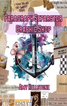 Paragraph Separator-Graphic Shop  by AmyHell23