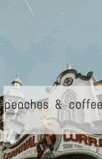 peaches & coffee ━━ k.wj + b.ch by binosaur_
