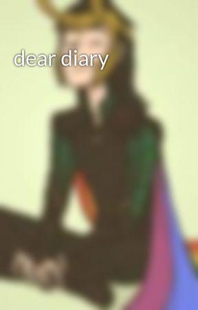 dear diary by missilekid04