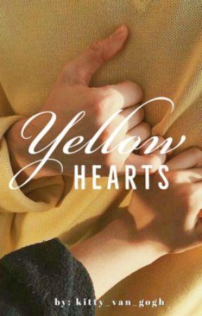Yellow Hearts by kitty_van_gogh