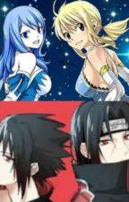 Fairy x Naruto - New life (Itachi x Lucy & Sasuke x Juvia) by FaiqahFarouk