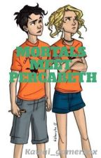 Mortals Meet Percabeth by the_yellowrose