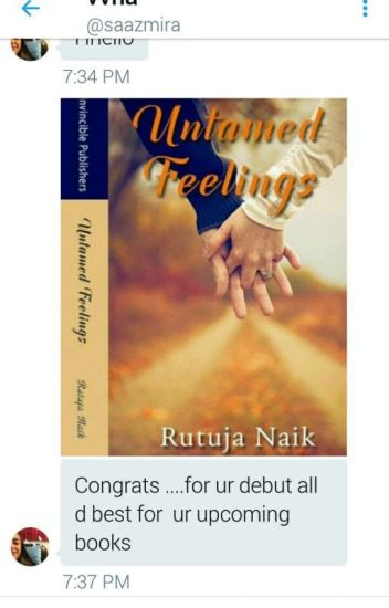 UNTAMED FEELINGS.(Published)