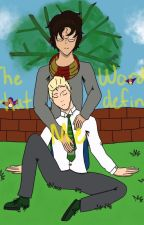 The Words That Define Me  ~{Drarry Soulmate Au}~ by myotpisKlance
