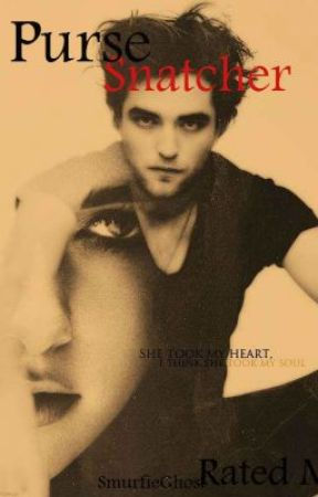Edward Cullen: Purse Snatcher by SmurfieGhost