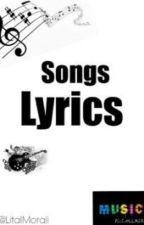 Song Lyrics by LitalMorali