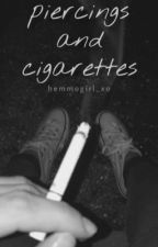 piercings and cigarettes | luke hemmings by hemmogirl_xo