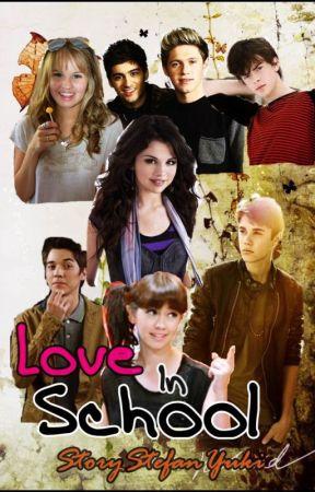 Love In School by StoryStefanYuki