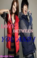 Love between you and i [Sooyoung SNSD &Yesung Super Junior] by Thaliapark27