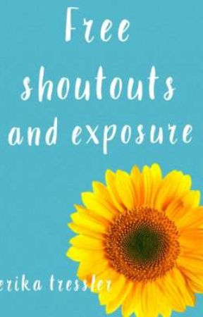 Free Shoutouts and Exposure by erika_writes_