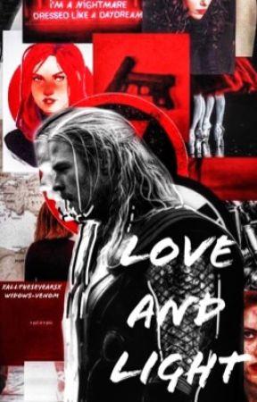 Love & Light ; BW by widows-venom