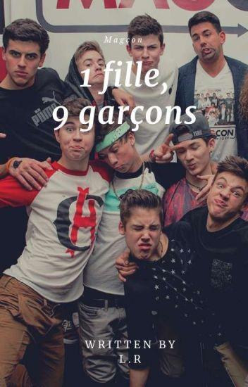 1 fille, 9 garçons. [PAUSE]