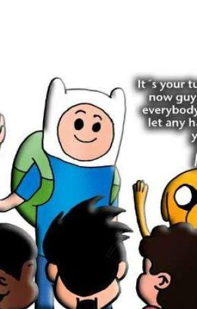 Cartoon/Anime Multiverse Social Media by Craftfury