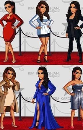 Kim Kardashian game in a story by sarabham