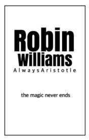 Robin Williams by alicoforever