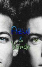 Azul & Verde (larry stylinson) by FrancxAguerx