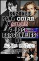 RAZONES PARA AMAR Y ODIAR A LOS PERSONAJES DE ALEX MÍREZ - MASCULINOS by LeaVinez