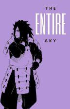 The Entire Sky | Madara Uchiha by urahahara