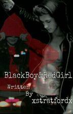 Blackboy&Redgirl. by xstratfordx