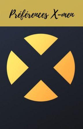 Préférences X-men by FlorianeJoubert
