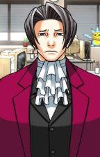 Ace Attorney: Edgeworth X Anxious Reader by CrazyTMNTLOVER