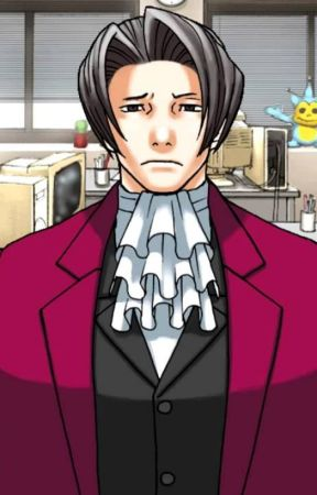 Ace Attorney Edgeworth X Anxious Reader Before The Trial