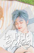 .・゜-: ✧ :- paper stars   renmin by mvrkklee