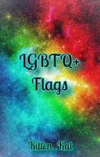 LGBTQ+ Flags and Sexualities by Kitten_Kat