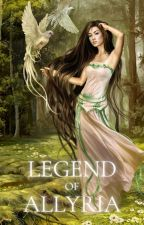 Legend of Allyria. Wild Wood, the Forest of the Wood-Nymphs by NicoleArlette
