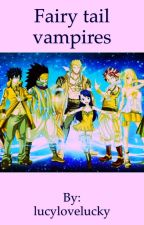 Fairy Tail Vampires and Werewolfs by lucylovelucky