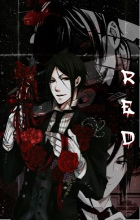 red | sebastian michaelis  by -jenbabe