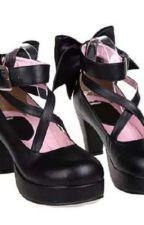 Shoes for Her. ((JJBA: GW Oc x Giorno)) by KaoriNakamura6250