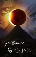 Goldsonne und Kohlemond (Yu-Gi-Oh Casteshipping) by ZentaurAutor