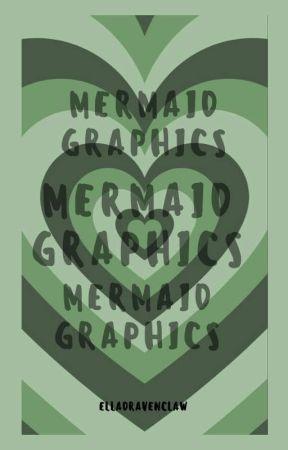 Mermaid Graphics by Elladravenclaw