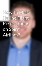 How To Make Online Flight Reservations on Spirit Airlines? by Mattdemon711