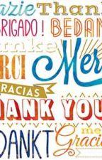 Bedankt in duizend talen. by Klaretta2