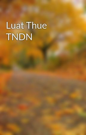 Luat Thue TNDN by hongquanmobile
