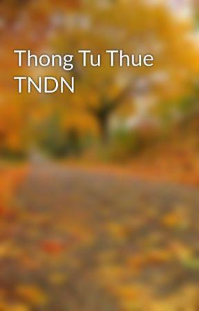 Thong Tu Thue TNDN by hongquanmobile