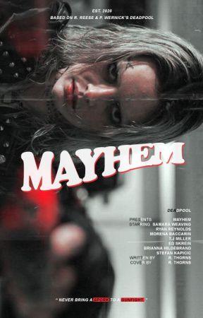 Mayhem × wade wilson by ramonaxthorns