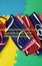 HEALTH MASK | EARLOOP FABRIC MASK | HEALTH FABRIC MASK MASTER IN BEJING CHINA by MaskerKesehatanSensi