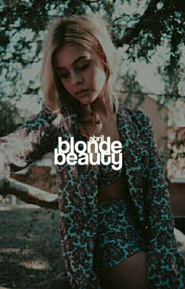 blonde beauty ▷ james potter