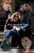 More Important Things - A Harry x Hermione Fanfiction by lesterinq