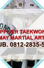 May Martial Arts, +62 812-2835-5115, Grosir Baju Taekwondo, Bantaeng by cektokoku
