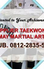 May Martial Arts, +62 812-2835-5115, Jual Baju Taekwondo, Parigi Moutong by cektokoku