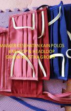 Jual Masker Kain Earloop di Purwokerto,088 166 15423 by MaskerKesehatanSensi