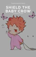 Shield The Baby Crow by -theboringchai-
