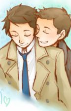 high school destiel by LindsayVonColln2